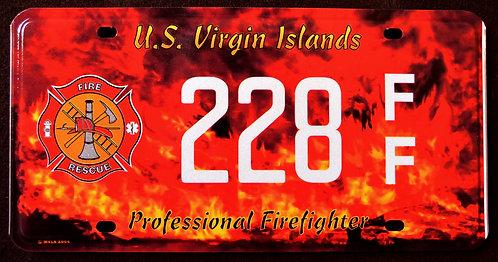 U.S.Virgin Islands - Firefighter