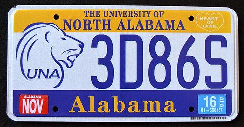 AL University of North Alabama - Wildlife Lion - 3D86S