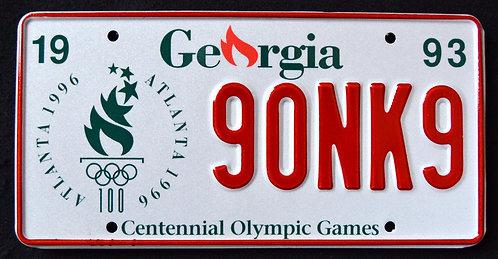 GA Centennial Olympic Games Atlanta 1996 - 90NK9