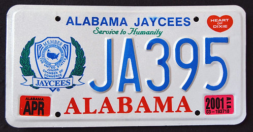 AL Jaycees - Service To Humanity - JA395
