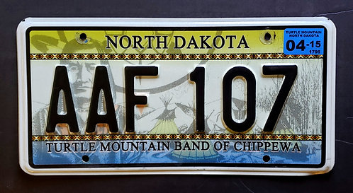 ND Turtle Mountain Band of Chjppewa Tribe - AAF 107