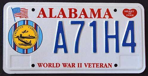 AL World War II Veteran - A71H4