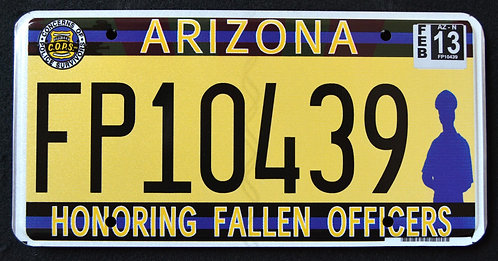 AZ Honoring Fallen Police Officers - Cops - Police - FP10439