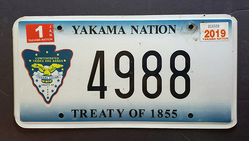 WA Yakama Nation - Tready of 1855