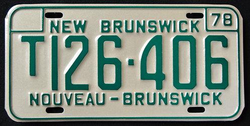 CANADA New Brunswick - Nouveau