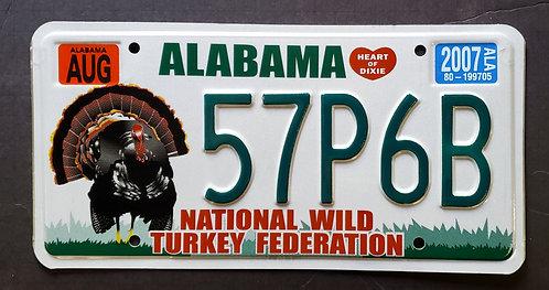AL Wildlife Turkey Bird - 57P6B