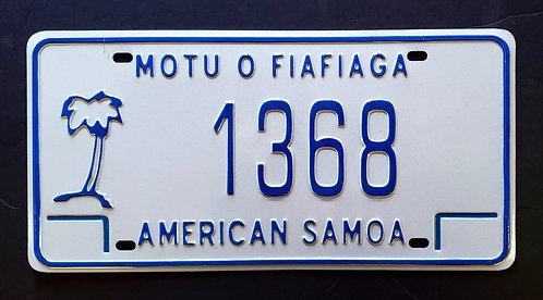 American Samoa - Palm Tree - Motu O Fiafiaga - 1368