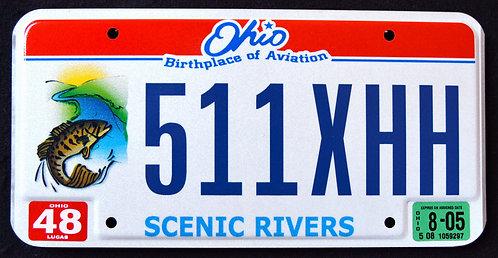 OH Scenic Rivers - Wildlife Bass - Fish