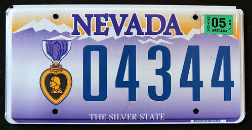NV Purple Heart Veteran - Combat Wounded