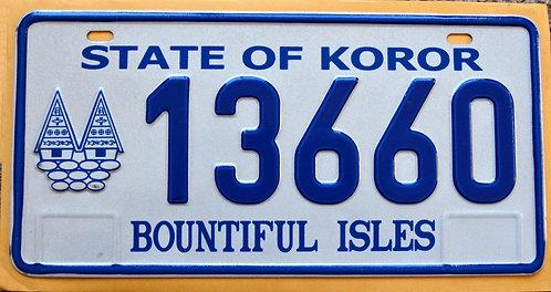 Palau - State Of Koror - Bountiful Isles - 13660