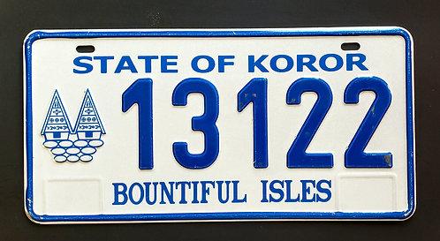 Palau Island - State of Koror - Bountiful Island - 13122