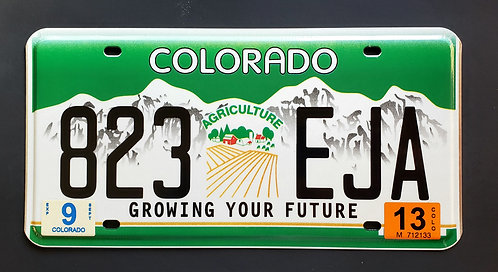CO Growing Your Future - Agriculture - 823 EJA