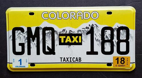 CO Taxi - Taxicab - GMQ 188