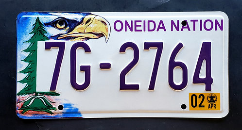 WI Wisconsin - Oneida Nation Indian Tribe - Eagle - 7G 2764