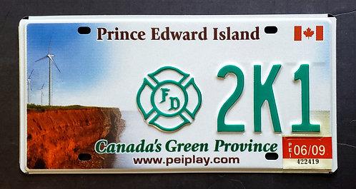 Canada - Prince Edward Island - Firefighter - Windmill - 2K1