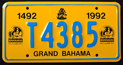Grand Bahama - 500 Years First Landfall - Christopher Columbus