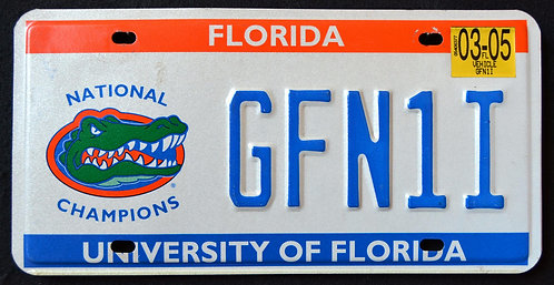 FL Gators - Football - University Of Florida - National Champions - GFN1I