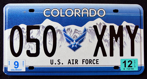 CO United States Air Force - 050 XMY