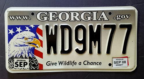 GA Wildlife Eagle - Bird - Give Wildlife a Chance - WD9M77