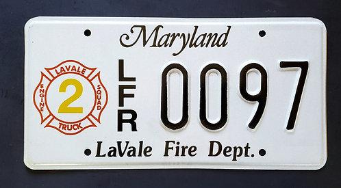 MD LaVale Fire Department - Firefighter -  Fire Truck - LFR 0097