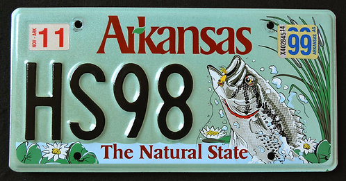 AR Wildlife Bass - Fish - The Natural State HS98