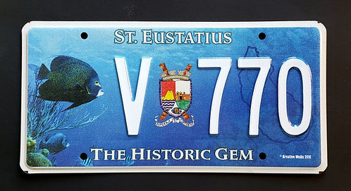 St. Eustatius Island - Historic Gem - Wildlife Tropical Fish - V770