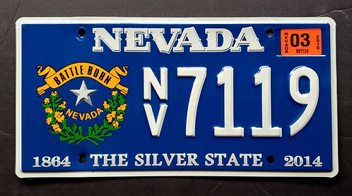 NV Battle Born - 150 Years Silver State - NV7119