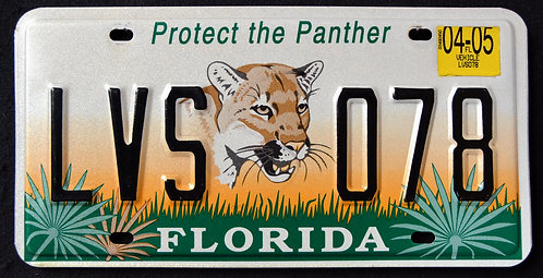 FL Protect The Panther - Wildlife