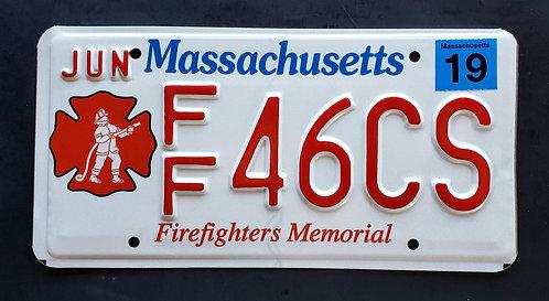MA Firefighter Memorial - Fire Fighter - FF46CS