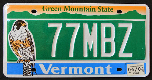 VT Wildlife Falcon - Bird - Green Mountain State - 77MBZ