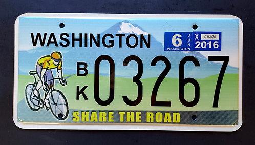 WA Share the Road - Bicycle Sport - Mount Rainier - BK03267
