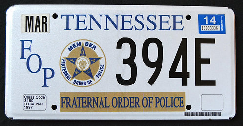 TN Fraternal Order Of Police - FOP - 394E
