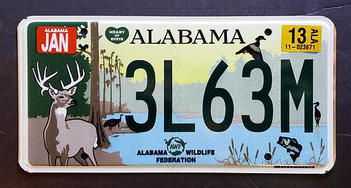 Alabama Wildlife Deer Fish Bass Heron Bird Duck Turkey Sqirrel
