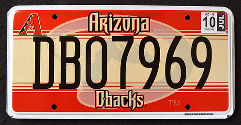 AZ Diamondbacks - D-Backs - National Baseball League - Rattlesnake - DB07969