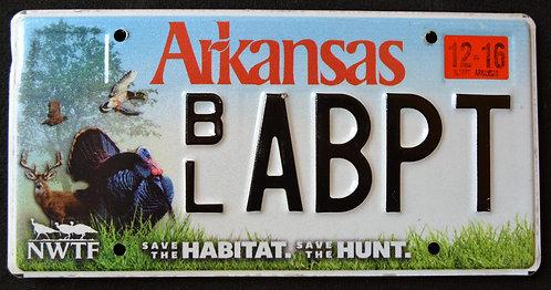 AR Arkansas - Wildlife Deer - Turkey - Duck - Save The Habitat - Hunt