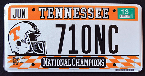 TN Titans - National Champions - Football - 71ONC