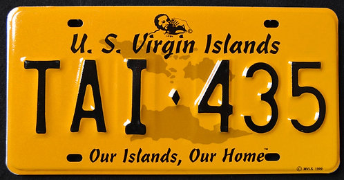 USVI St. Thomas - Our Island, Our Home - Map - TAI 435