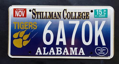 AL Alabama Stillman College - Go Tigers - Football - 6A70K