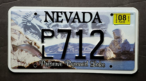 NV Paiute Tribe - Preserve Pyramid Lake - PL712