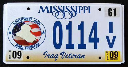 MS Iraq Veteran - Iraqi Freedom