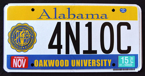 AL Oakwood University - 4N10C