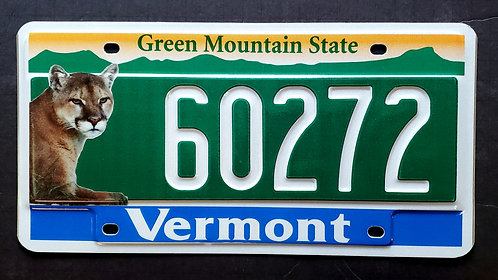 VT Wildlife Cougar - Mountain Lion - Cat - Green Mountain State - 60272