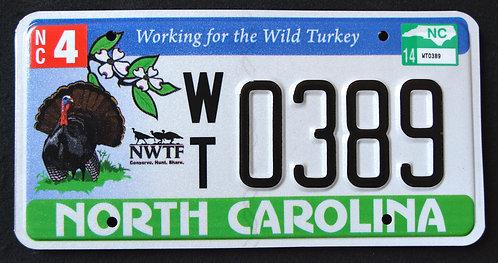 NC Wildlife Turkey - Bird - Working For Wild Turkey