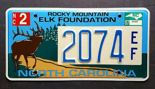 NC Wildlife Rocky Mountain Elk - 2075EF