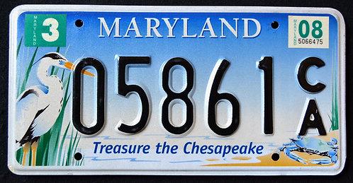 MD Treasure The Chesapeake - Wildlife Heron - Crab