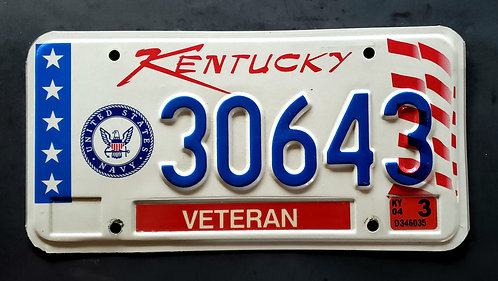 KY Veteran - United States Navy - 30643
