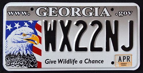 GA Give Wildlife A Chance - Eagle - Bird - WX22NJ