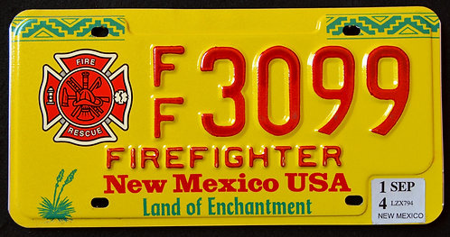 NM Firefighter - Land Of Enchantment - FF3099