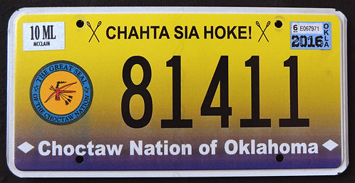 OK Choctaw Nation - Great Seal - 81411