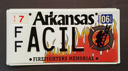 AR Firefighters Memorial - FFACIL